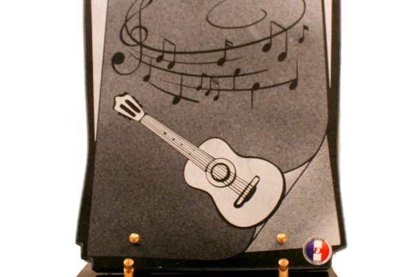 Plaque Granit 25x30 Guitare